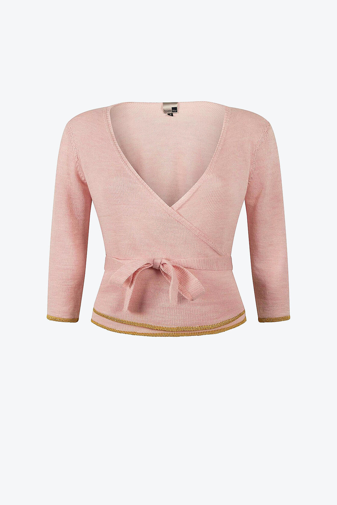 Blossom Pink Wrap Top Sweety