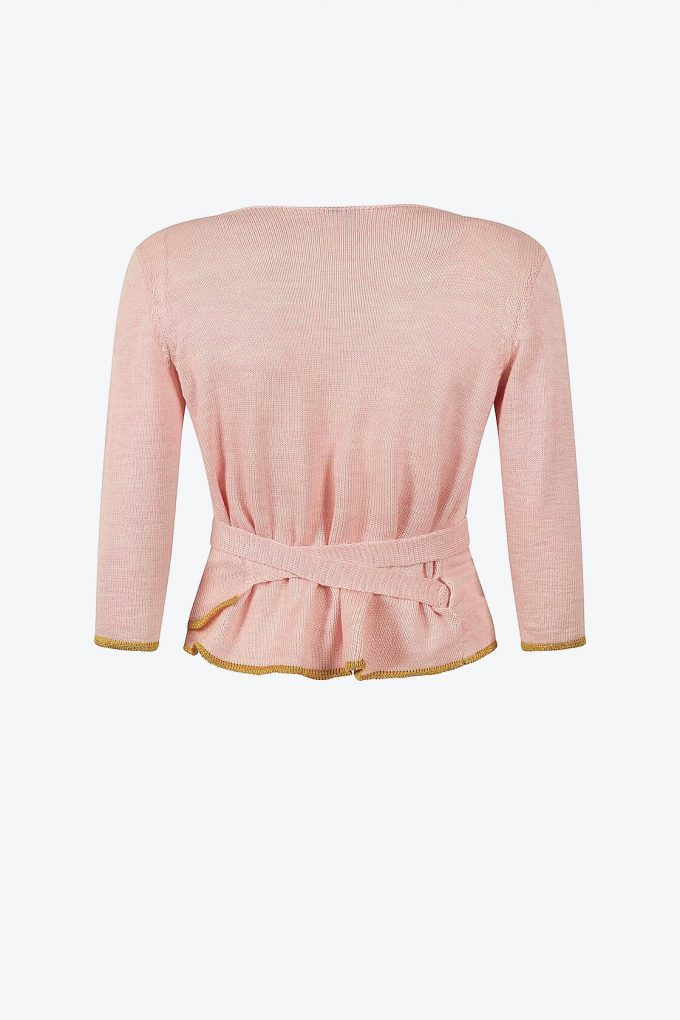 Blossom Pink Wrap Top Sweety B