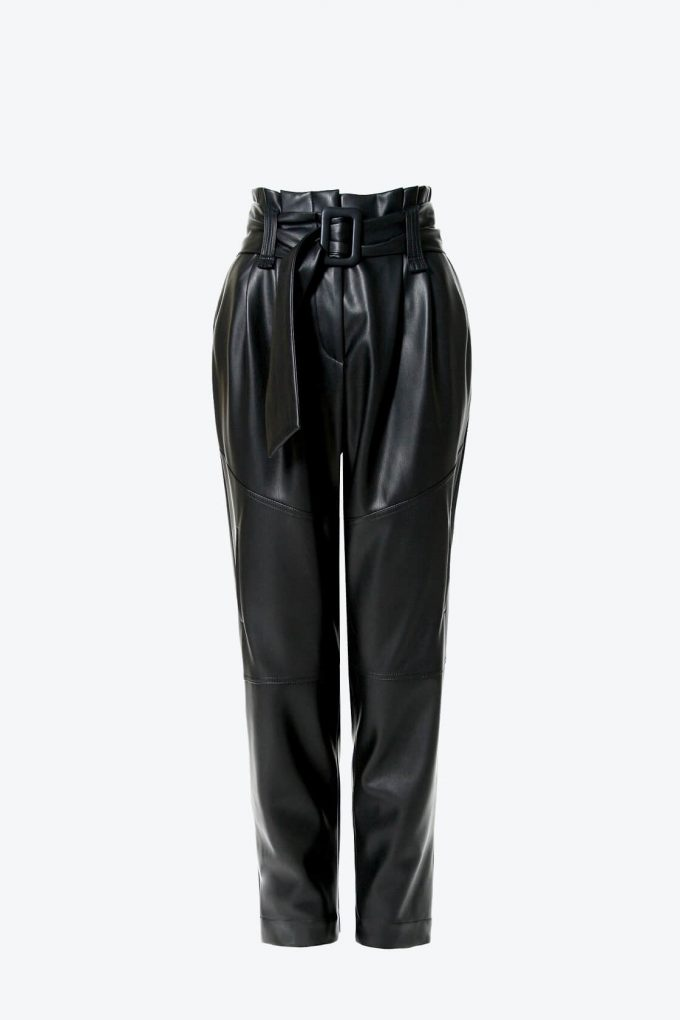 OL100002600 Pants Carrie Cynical Black1B