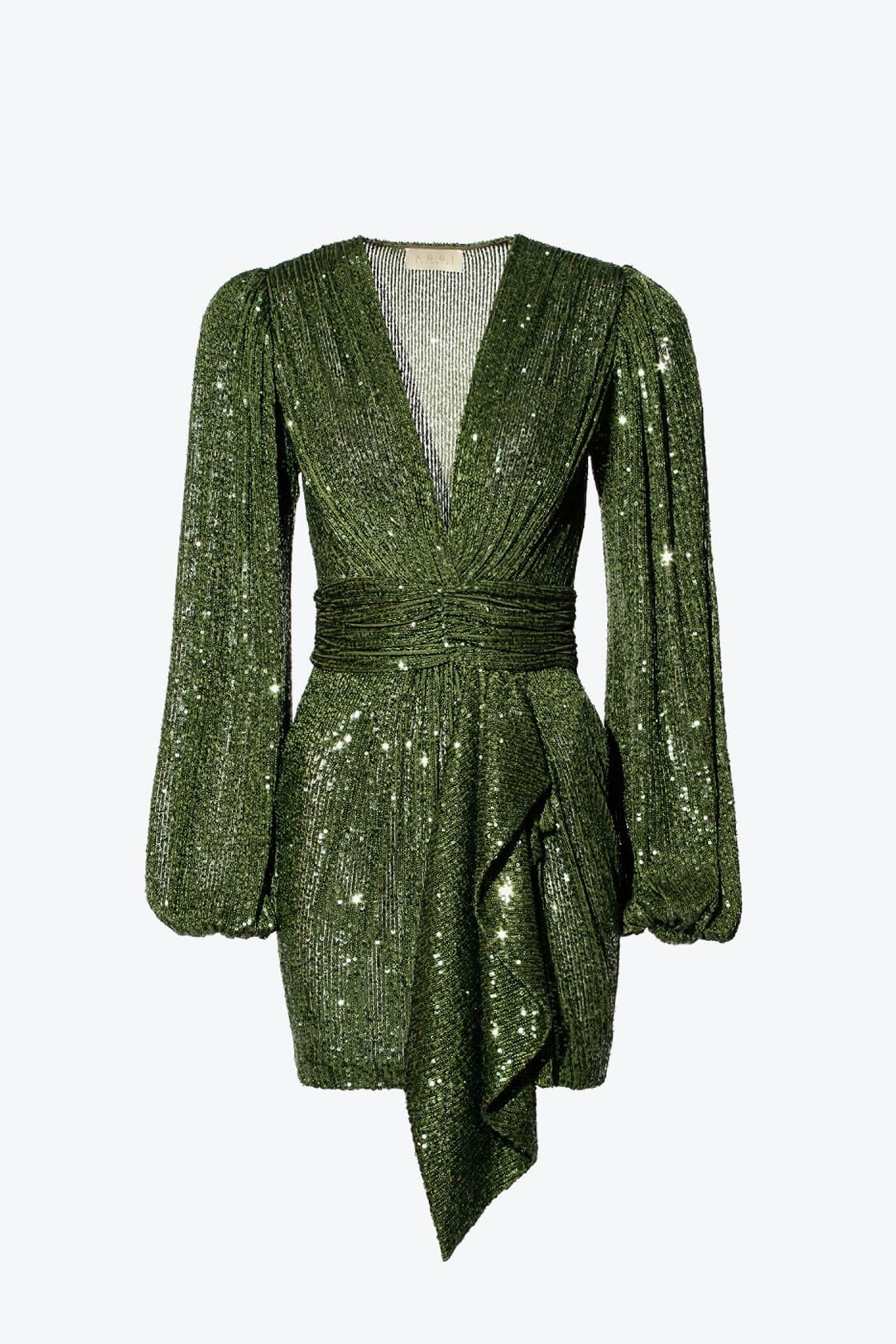 OL100002606 Dress Anastasia Vineyard Green1