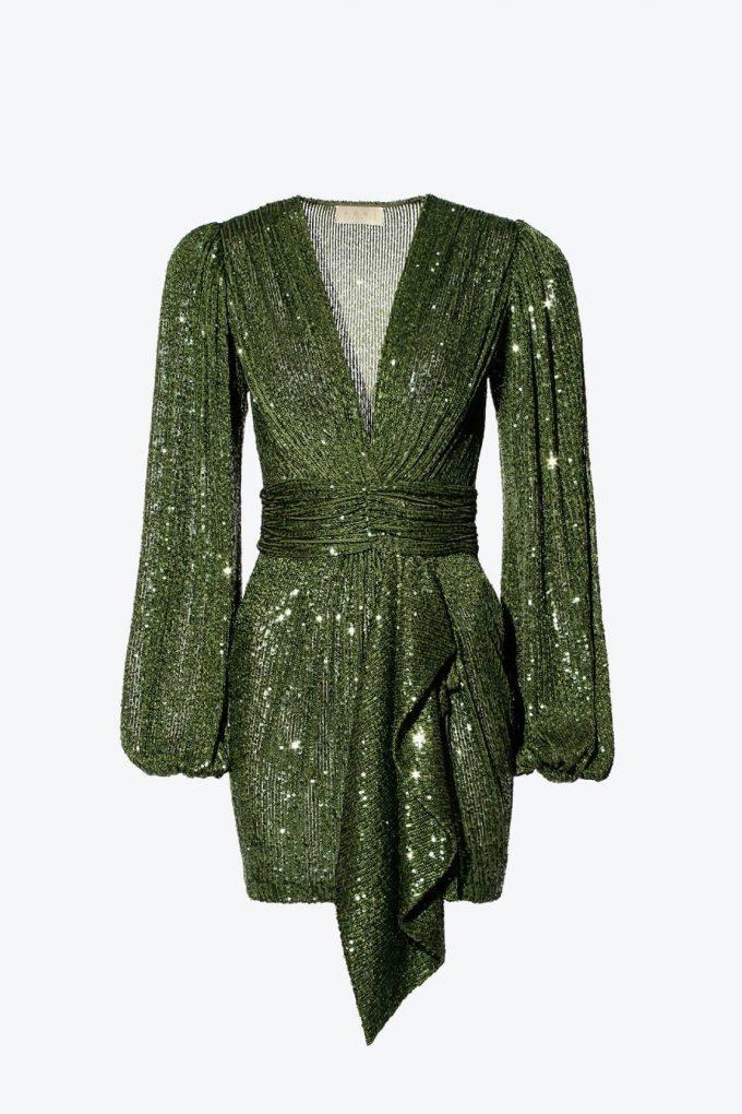OL100002606 Dress Anastasia Vineyard Green1B