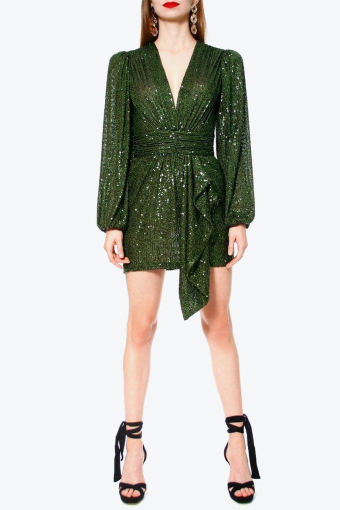 OL100002606 Dress Anastasia Vineyard Green4