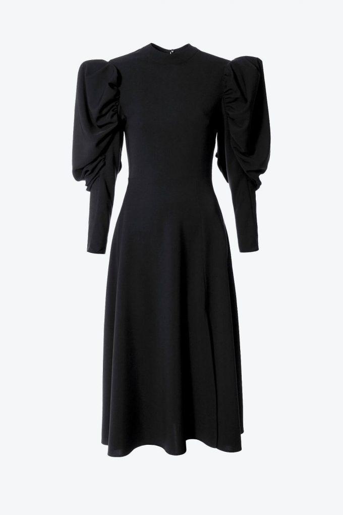 OL100002617 Dress Wendy black1B