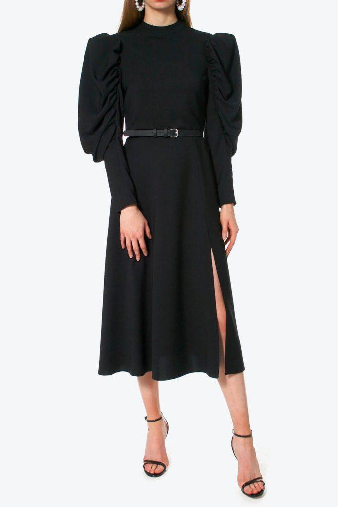 OL100002617 Dress Wendy black2