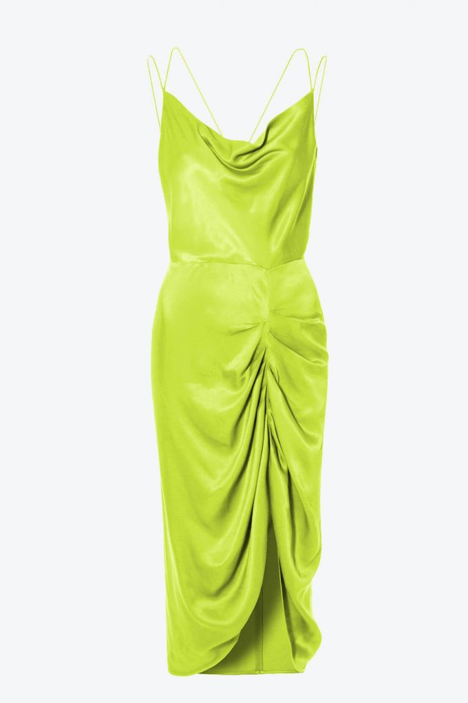 OL100002563 Dress Ava Wild Lime1B