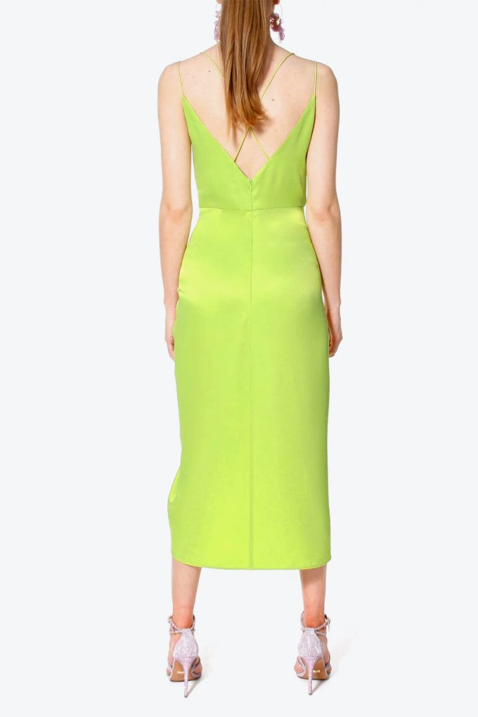 OL100002563 Dress Ava Wild Lime4