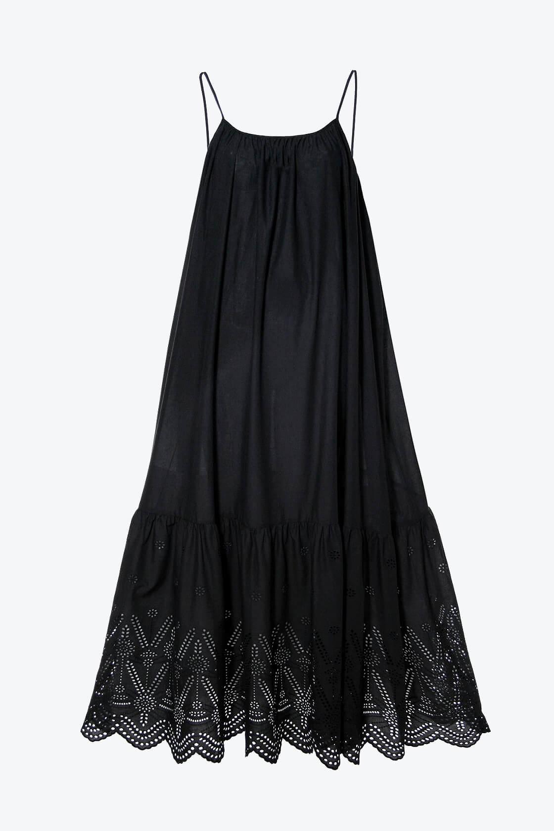 OL100002565 Dress Lea Black Beauty1