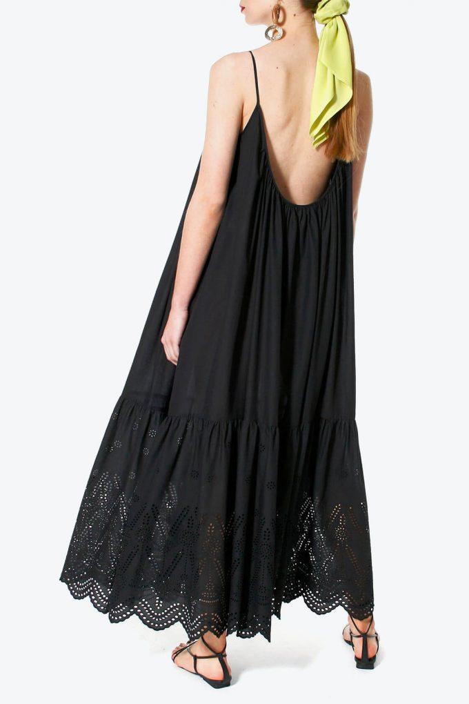 OL100002565 Dress Lea Black Beauty3