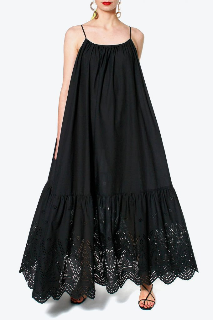 OL100002565 Dress Lea Black Beauty4