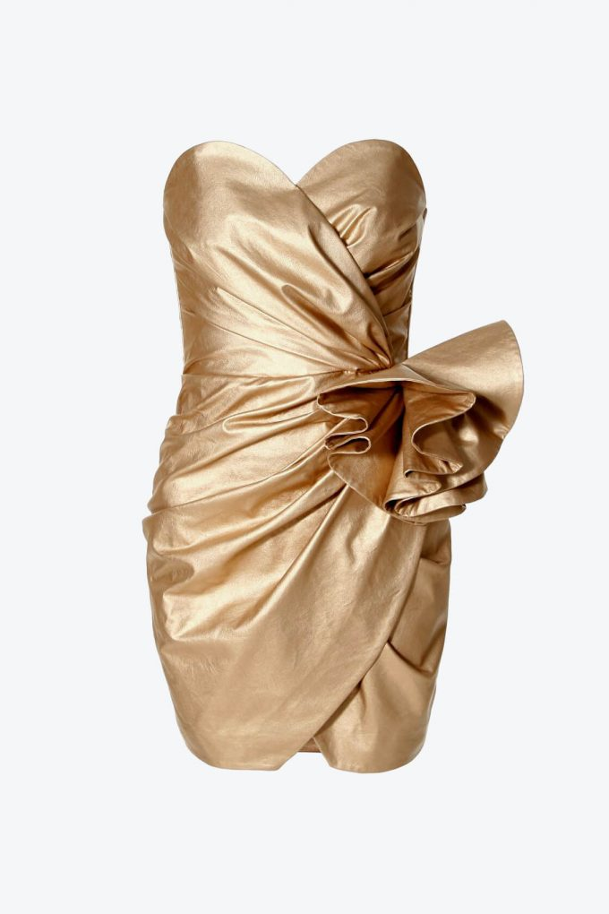 OL100002568 Dress Alessandra Vegas Gold1B