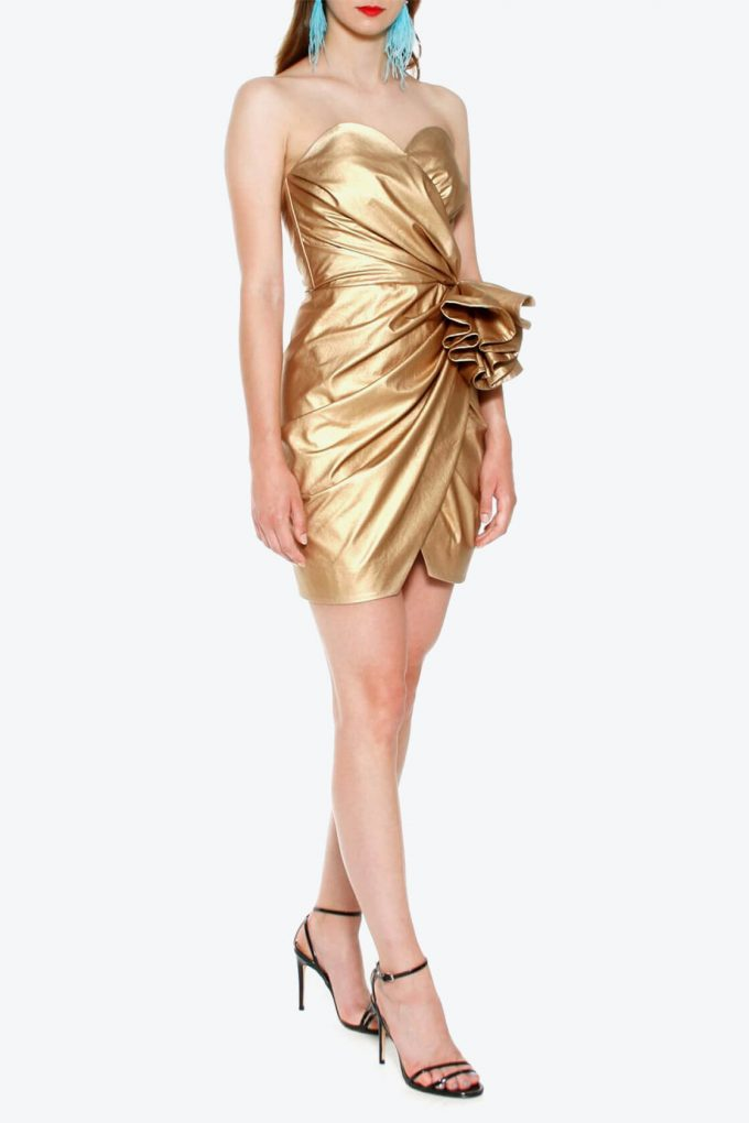 OL100002568 Dress Alessandra Vegas Gold3
