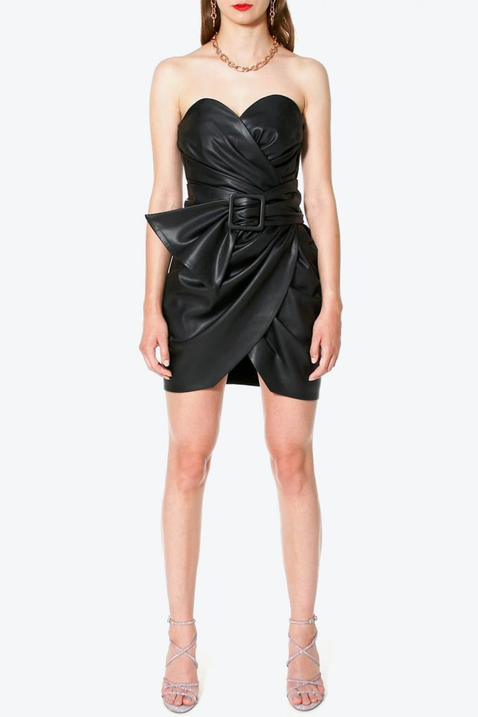 OL100002569 Dress Alessandra Cynical Black3