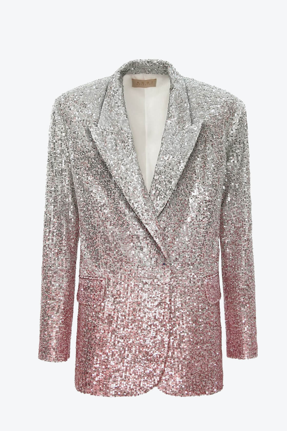 OL100002570 Sequin Blazer Gioia Silver Peony1