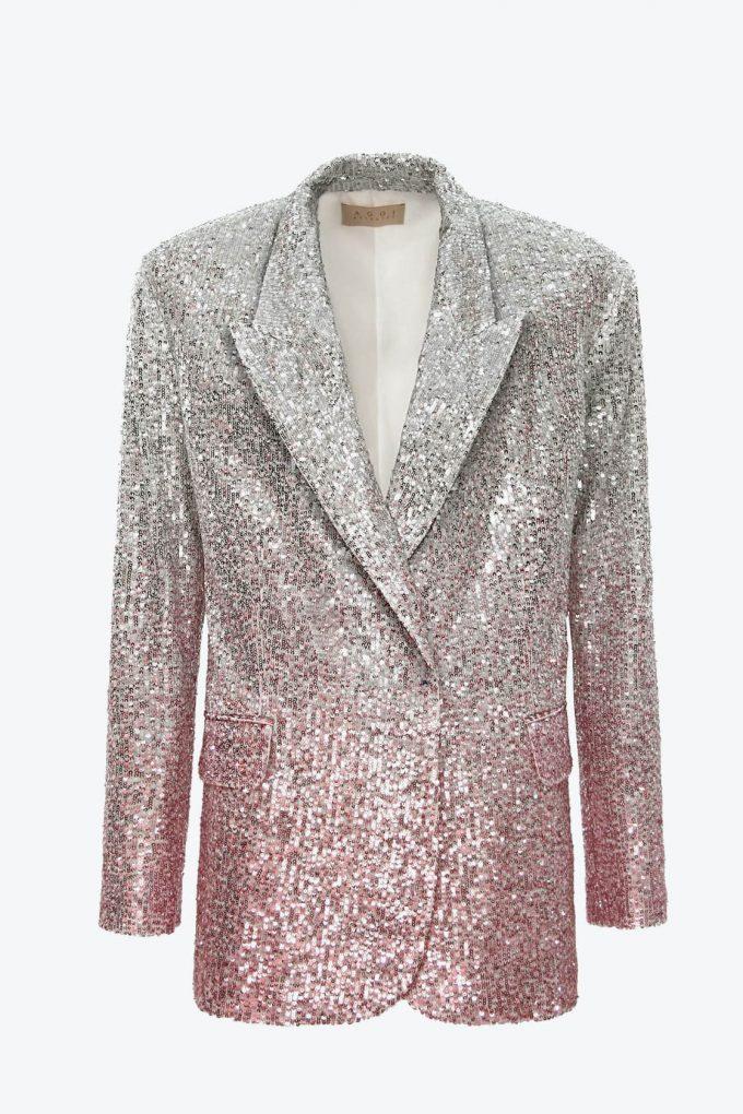 OL100002570 Sequin Blazer Gioia Silver Peony1B