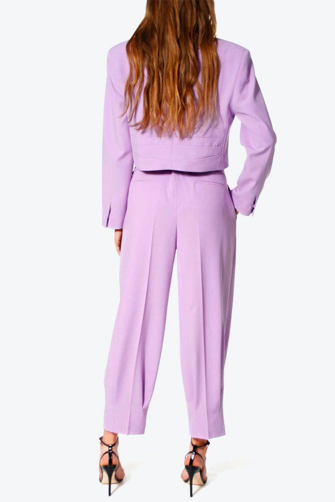 OL100002576 Trousers Bianca Viola3