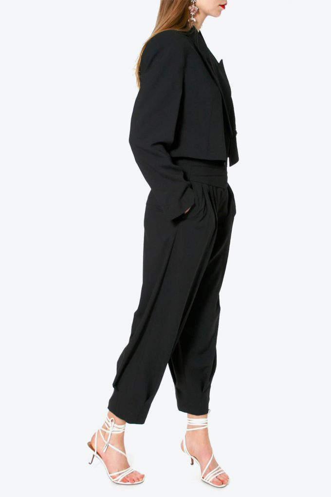 OL100002580 Trousers Bianca Neutral Black4