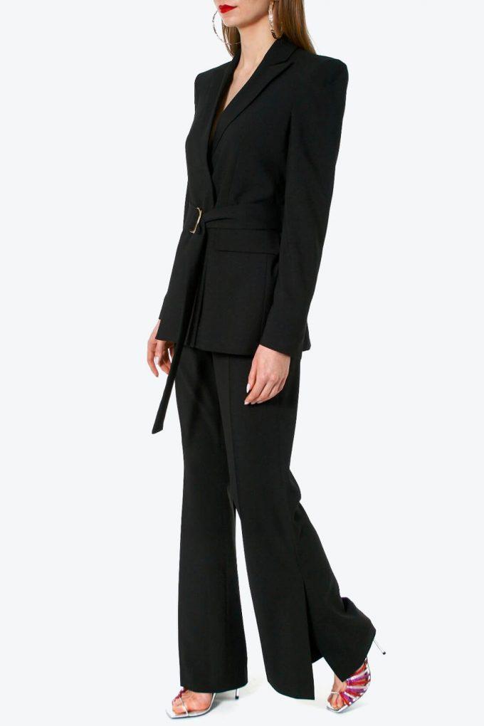 OL100002584 Pants Camilla Neutral Black 3