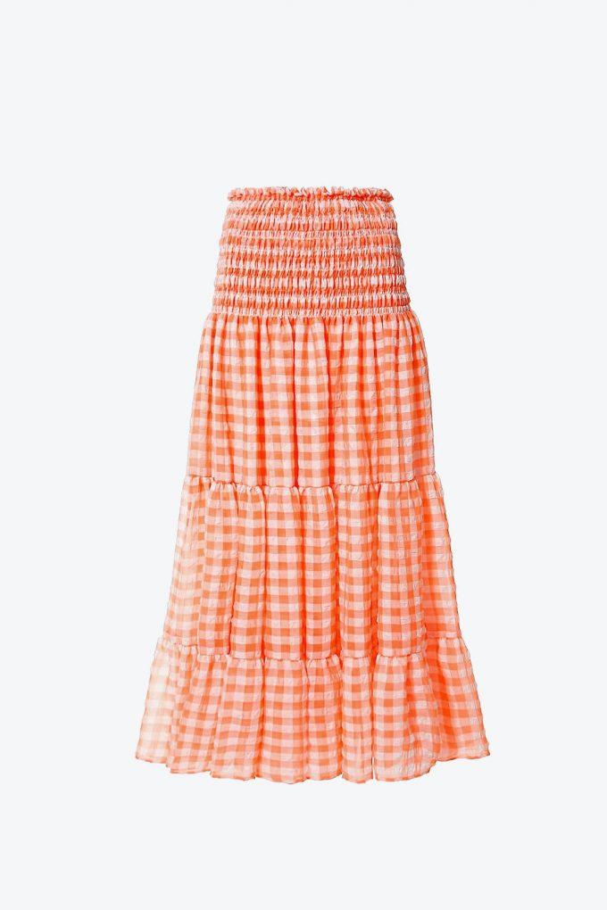 OL100002590 Skirt Lola Bright Marigold1B