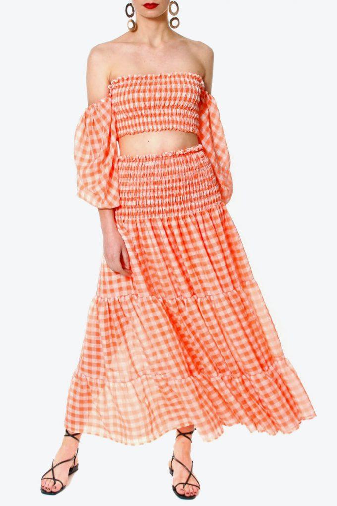 OL100002590 Skirt Lola Bright Marigold3