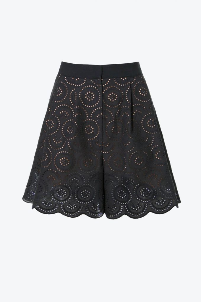 OL100002613 Shorts Anais Pirate Black1B