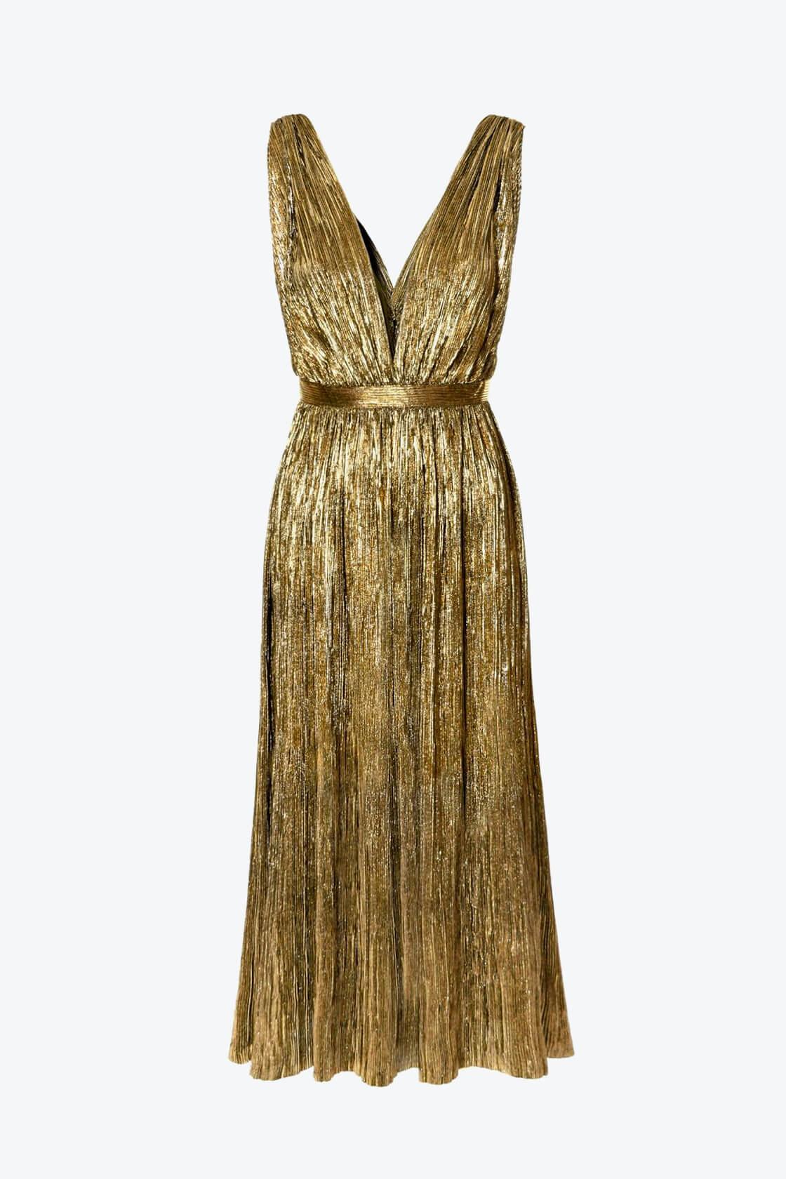 OL100002627 Dress Marjolaime Soleil Dor1