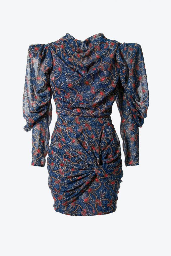 OL100002630 Dress Vanessa Blue Sapphire1B