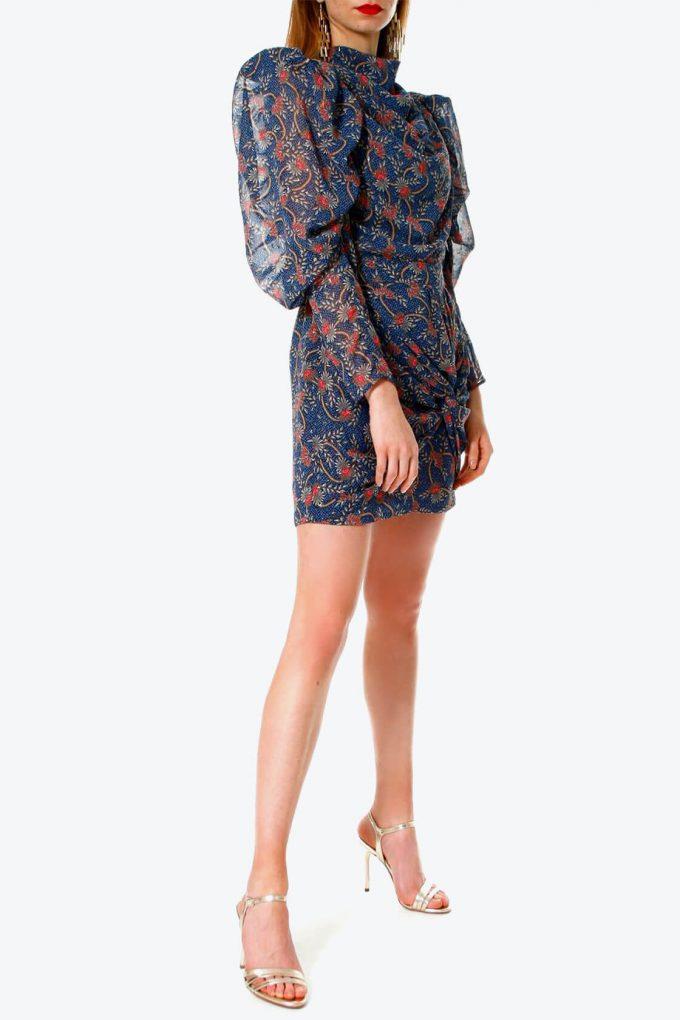 OL100002630 Dress Vanessa Blue Sapphire2
