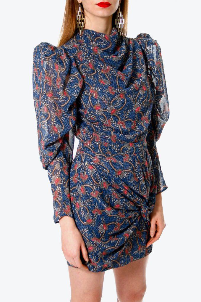 OL100002630 Dress Vanessa Blue Sapphire3