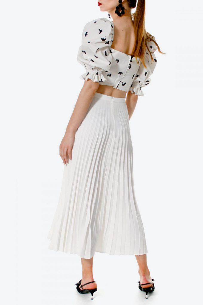 OL100002634 Skirt Elvira Cream White4