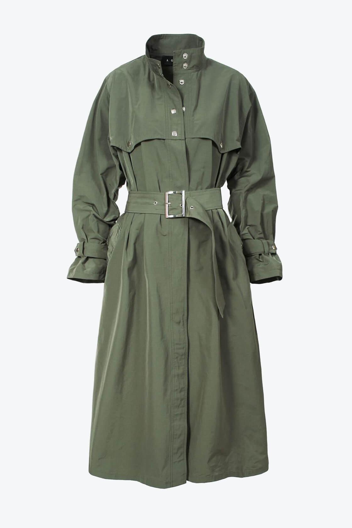 OL100002637 Trench Coat Vanda Khaki1