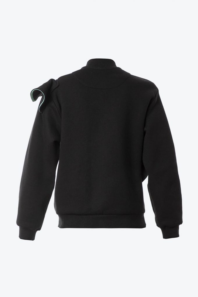 OL10000178 Black bomber jacket2