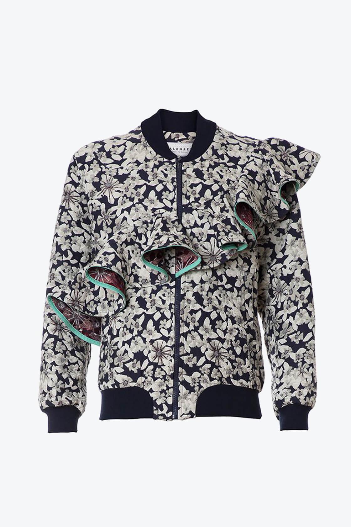 OL10000184 Jacquard bomber jacket1