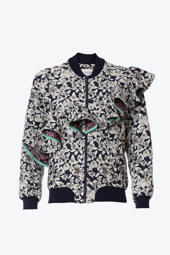 OL10000184 Jacquard bomber jacket1B