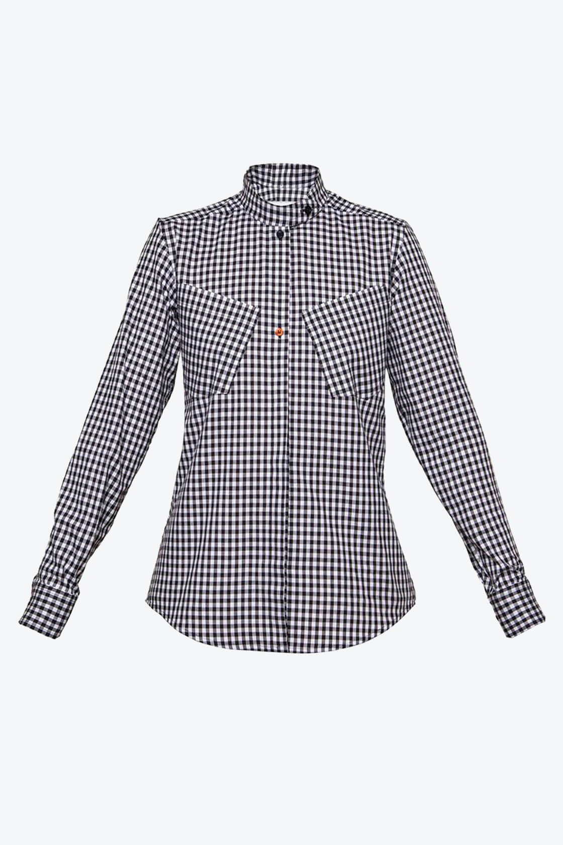 OL10000186 Gingham shirt1