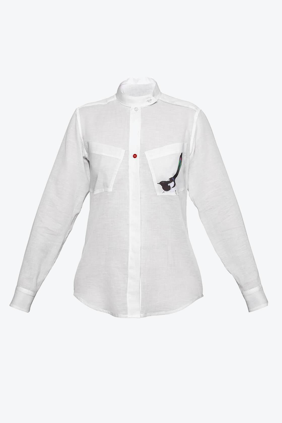 OL10000186 Magpie shirt1
