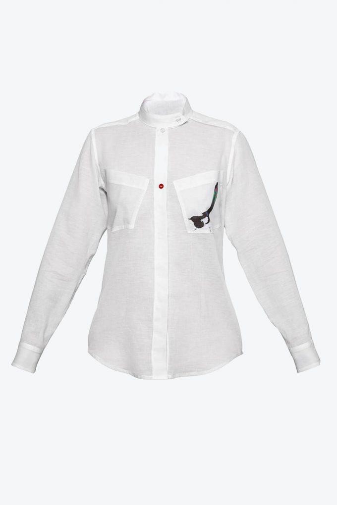 OL10000186 Magpie shirt1B