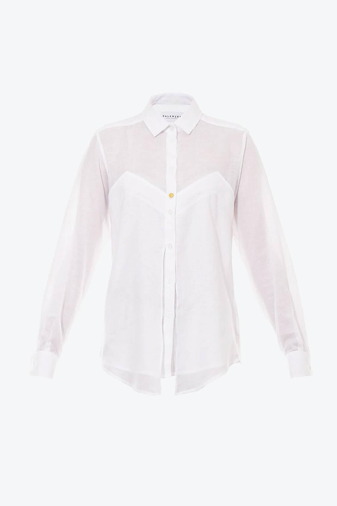 OL10000192 Long sleeve batista blouse1