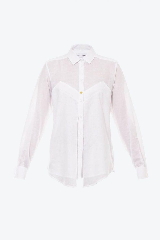OL10000192 Long sleeve batista blouse1B