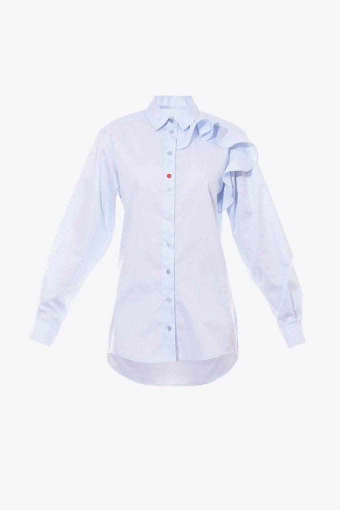 OL10000194 Ruffle blouse1B