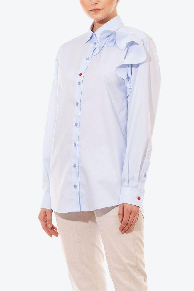OL10000194 Ruffle blouse3