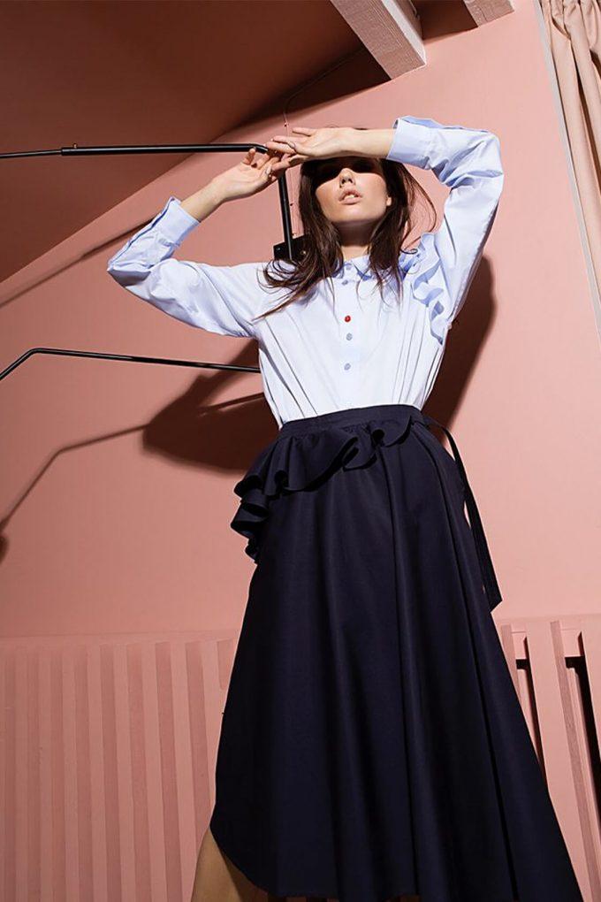 OL10000194 Ruffle blouse4
