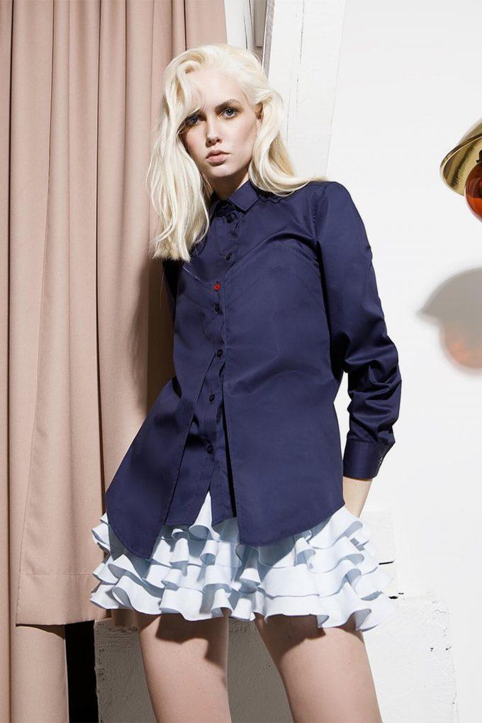 OL10000196 Long sleeve shirt blouse4