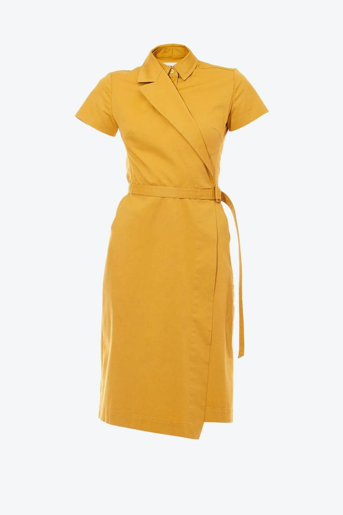 OL10000202 Asymmetric blazer dress1B