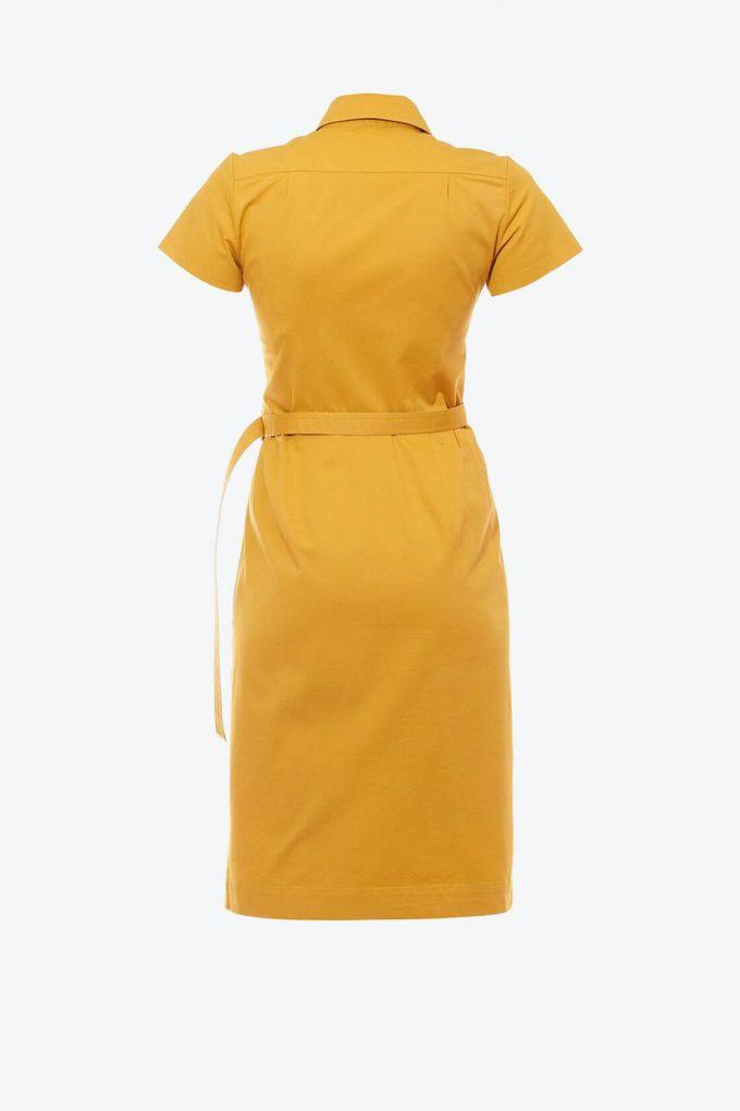 OL10000202 Asymmetric blazer dress2