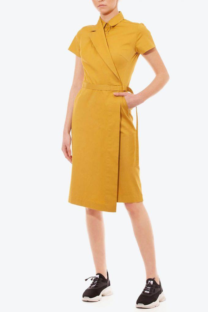 OL10000202 Asymmetric blazer dress3