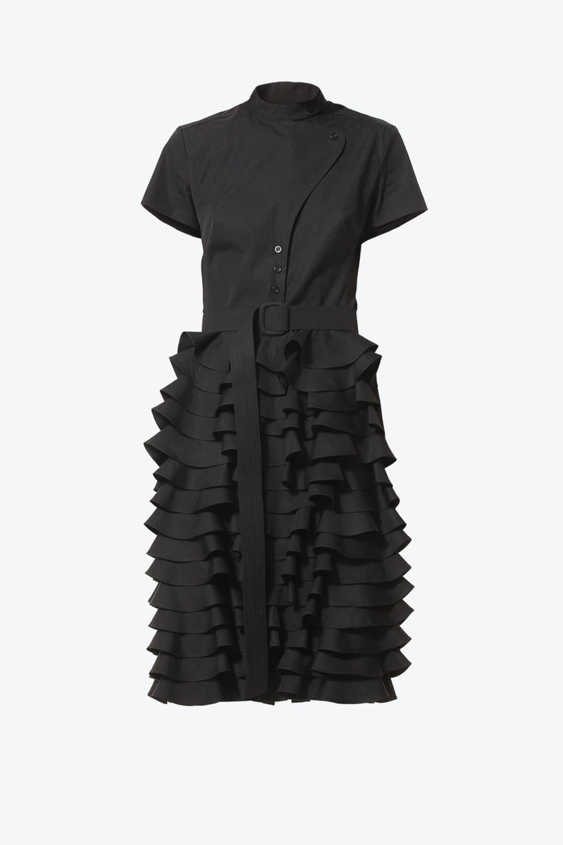 Ol10000210 Little Black Ruffle Dress1