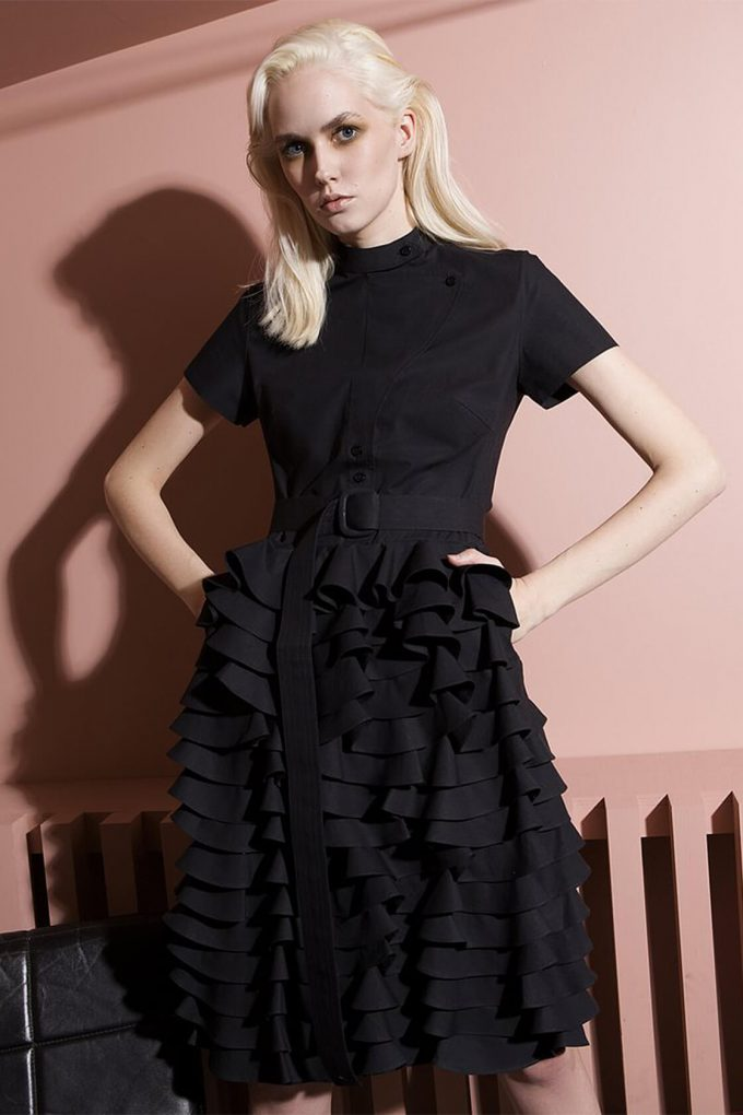 Ol10000210 Little Black Ruffle Dress4