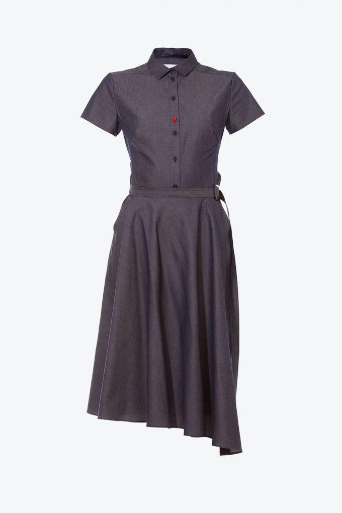 OL10000212 Denim dress1B