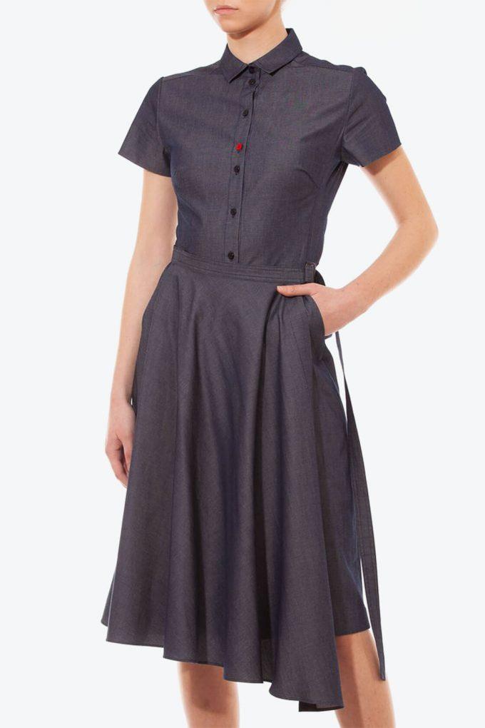 OL10000212 Denim dress3
