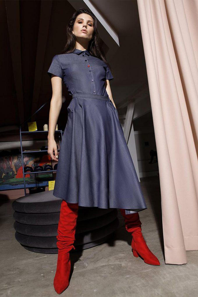 OL10000212 Denim dress4